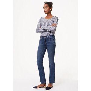 Ann Taylor Loft modern straight cut jeans